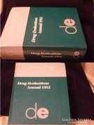 1 ország csak 1db-ot kapott Drug annual 1992 orvosi lexikon 19 témakör felsorolással  2204 old