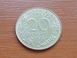 FRANCIA 20 CENTIMES 1976