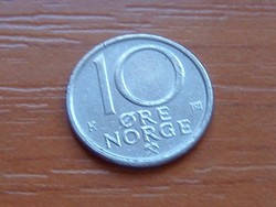 NORVÉGIA 10 ŐRE 1988