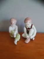 Aquincumi porcelánok, fiú, lány