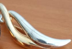Aranyozott- Ezüstözött   Bross(3)Új Ajándék Karkötővel!