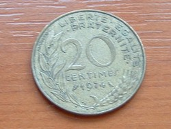 FRANCIA 20 CENTIMES 1974