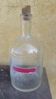 Öntött üveg, pálinkás flaska, palack eladó!