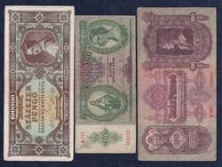 3 db pengő bankjegy/id 5939/