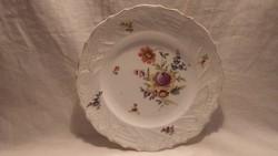 Antik kézifestett porcelán tányér