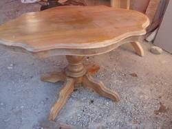 Antik, asztalka, restaurálandó:
