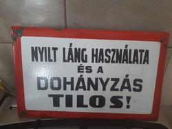 Régi Zománc Tábla  1.