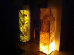 Onix márvány lámpa