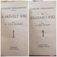 Dr.Tóth Tihamér Levelek Diákjaimhoz sorozatának 2 kötete