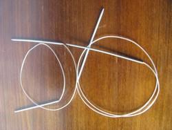 2,5 -es és 3 as körkötőtűk