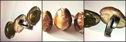 1920-as években Kauri kagylókból készült ékszer szett