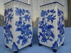 Régi Német porcelán váza párban kuriózum