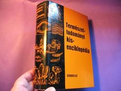 Könyv Természettudományi kisenciklopédia 879 old Gondolat 1975