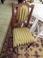 Antik ó-német asztal+ 6 db szék