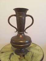 4000ft-ról! Nagyméretű régi, réz váza!