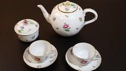 Gyönyörű herendi teás szett 2 személyre