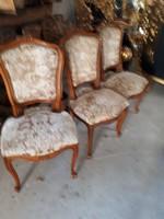 2 darab barok stilusú  szék