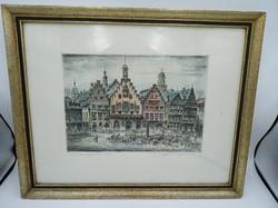 Frankfurt című falikép