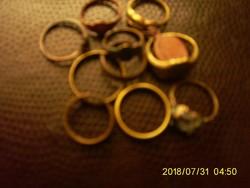 10 db Régi Gyűrű + 1 db Medál