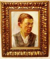 Mednyánszky László- Portre-