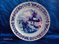 Hatalmas DELFTS porcelán kínáló tál