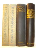 Makkai Sándor három történelmi regénye (Szabad vagy, Ördögszekér, Táltoskirály)