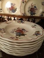 Sarreguemines-Mezei virágcsokros tányérok 1200Ft/Db