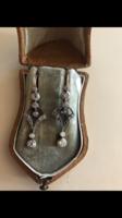 Antik gyémànt fülbevaló