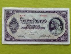 100 pengő 1945/id 2756/