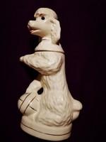 Antik kutyát ábrázoló kiöntő