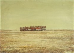 """0U895 Kurucz D. István : """"Tanya télen"""" 1932"""