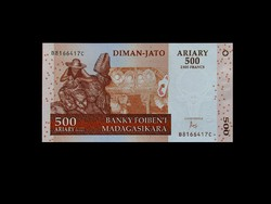 UNC - 500 ARIARY - MADAGASZKÁR - 2016
