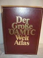 Könyv - Atlasz - Német - 38 x 28 cm - gyönyörű - 416 oldal - keményfedeles - aranyozott.