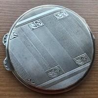 Púdertartó ezüst