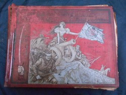 Az 1848/49-iki magyar szabadságharcz története képekben.1898-as kiadás.Irredenta.