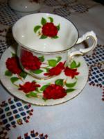 Angol Paragon  csésze és tányér