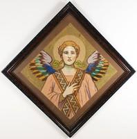 Székely Bertalan (1835–1910): Angyal freskó-terv