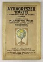 0V425 Kogutovicz Károly A világrészek térképe 1939