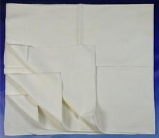 0V732 Régi damaszt asztalterítő 140 x 145 cm