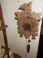Mechanikus egysúlyos fa kakukkos óra