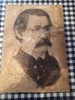 Antik grafika kép Arany János