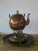 Vörösréz teafőző