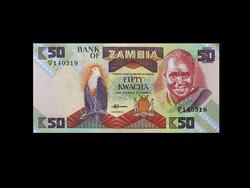 UNC - 50 KWACHA - ZAMBIA - 1986  Ma már ritkaság!