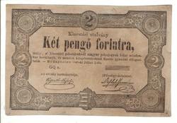 2 Két pengő forintra 1849 Kossuth bankó 1.