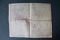 Antik világtérkép, magyar nyelvű