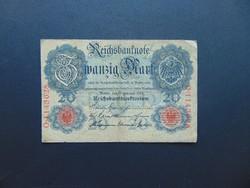 20 márka 1914 Németország  02