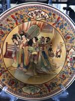 Keleti porcelán tányér