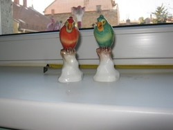 Herendi, papagájok 2 db