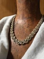 Gyönyörű ezüst nyaklánc!!