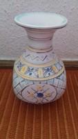 Gorka Géza váza ritka dekorral